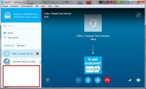Echo/Sound Test Service calling! Learn Japanese online via Skype!