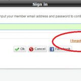 I forgot my password at weknow