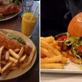 fish & chips vs Burger